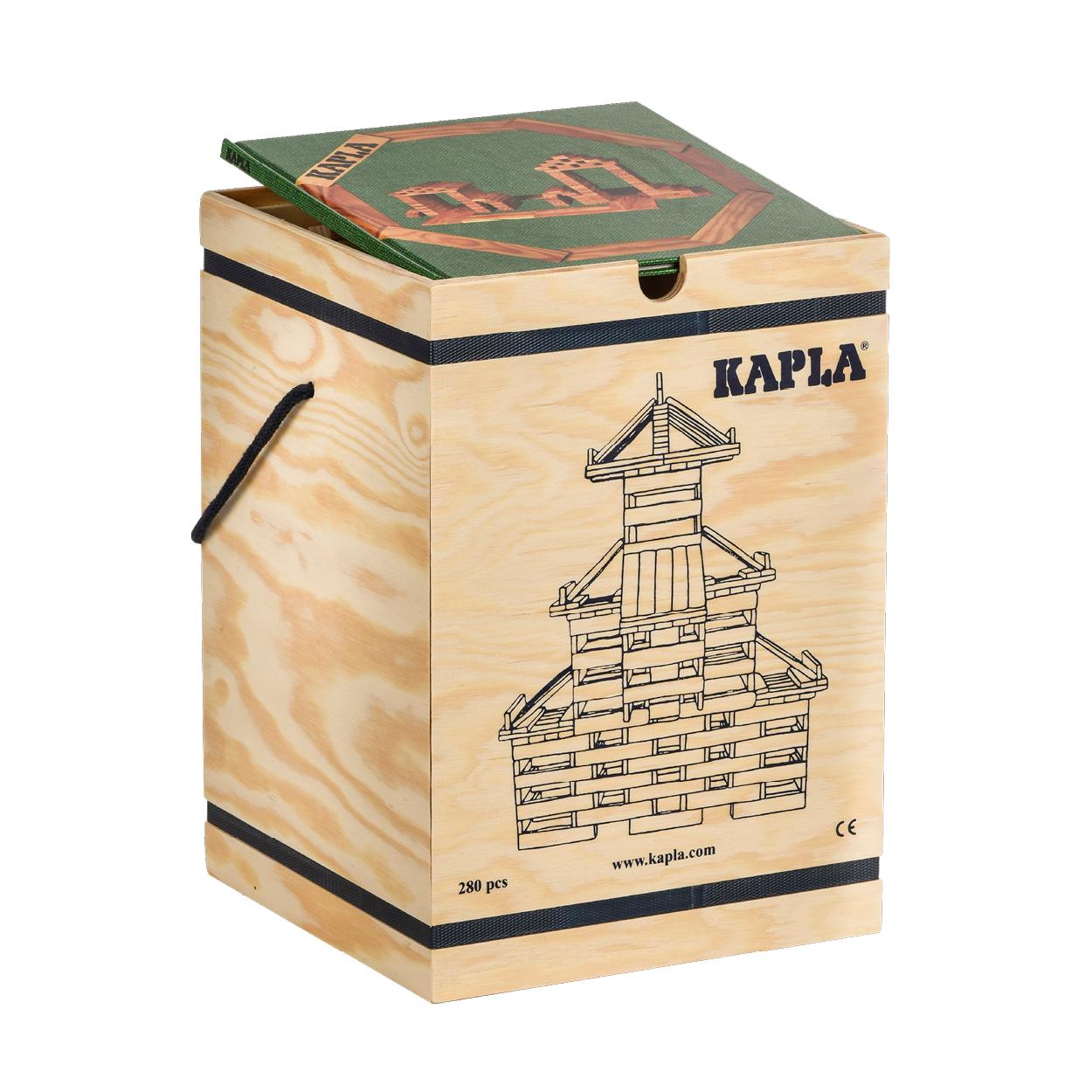 FAP-K-280-G-KAPLA280 積木盒-#3-綠 (280PCS)