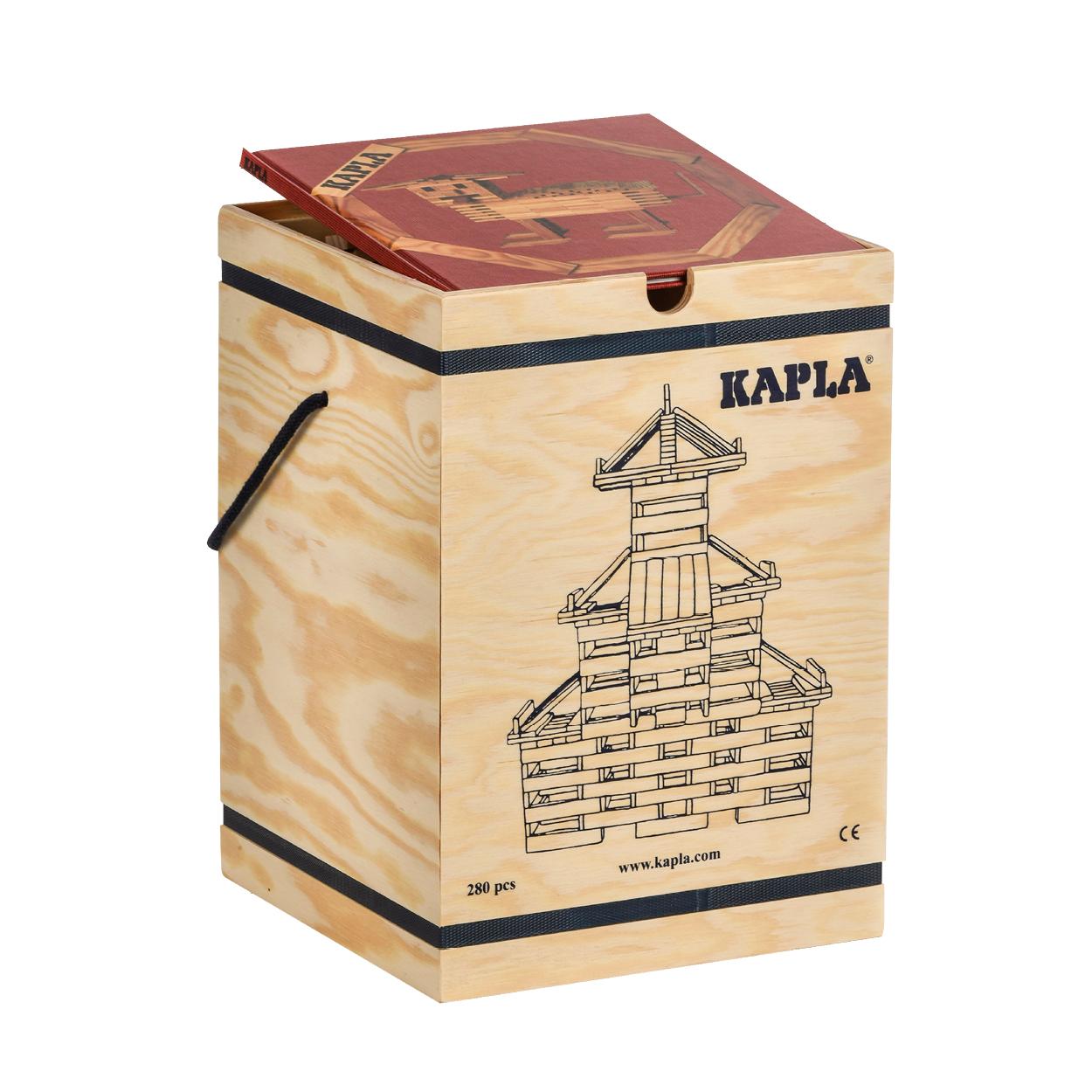 FAP-K-280-R-KAPLA280 積木盒-#1 紅 (280PCS)