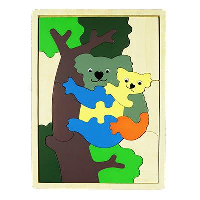 H031-無尾熊拼圖