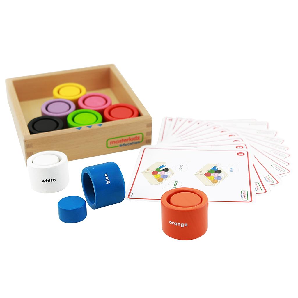 ME04048-圓形顏色配對遊戲盒