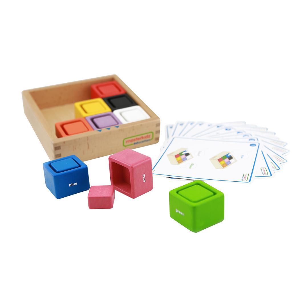 ME04215-方形顏色配對遊戲盒