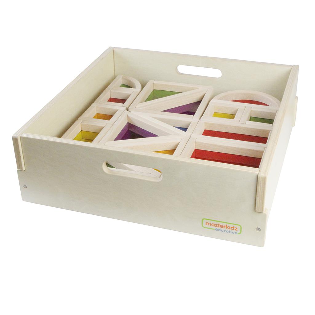 ME06929-A-巨型彩色透視積木30件套裝(含收納箱)