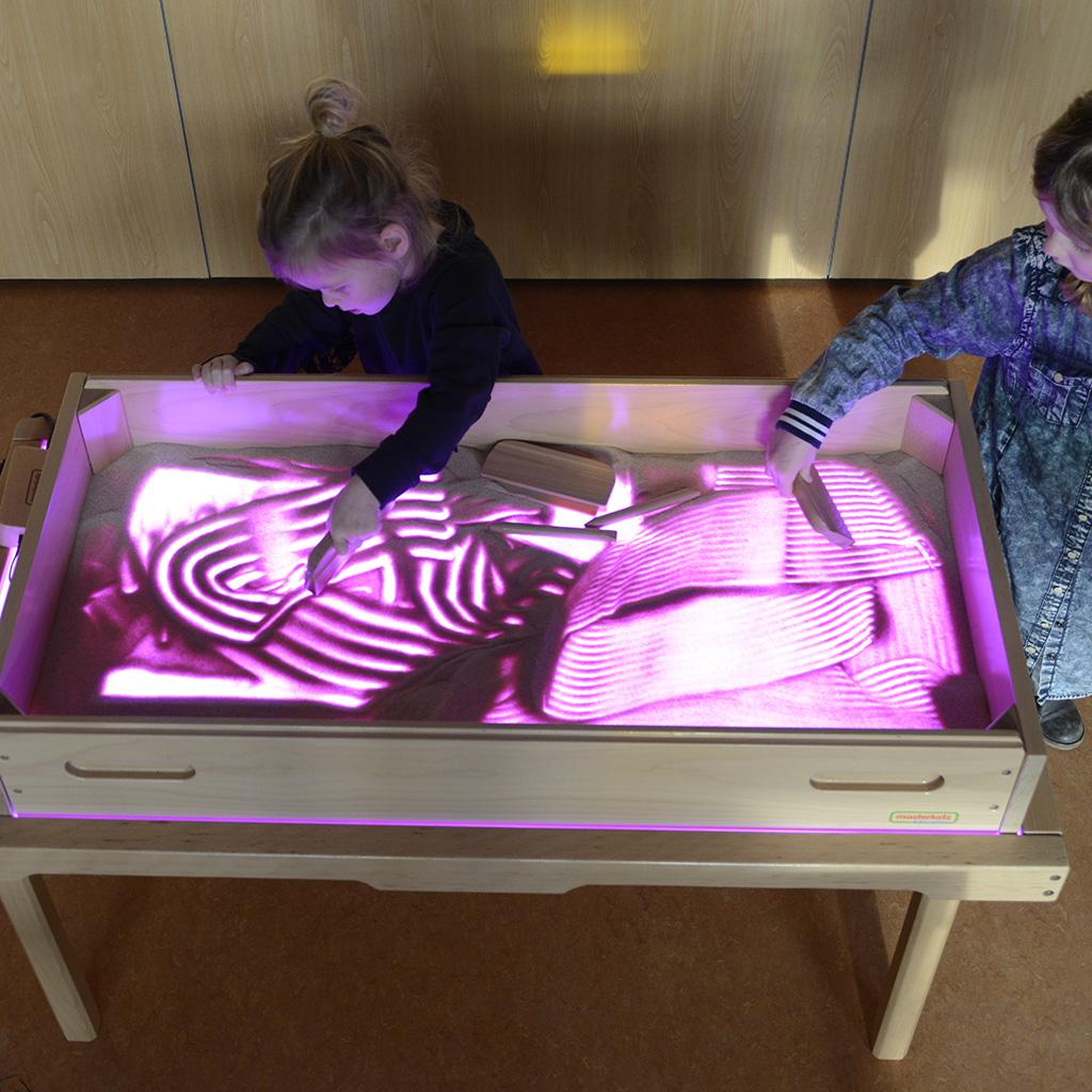 ME07445-LED多功能彩色教學燈箱 (加大款)