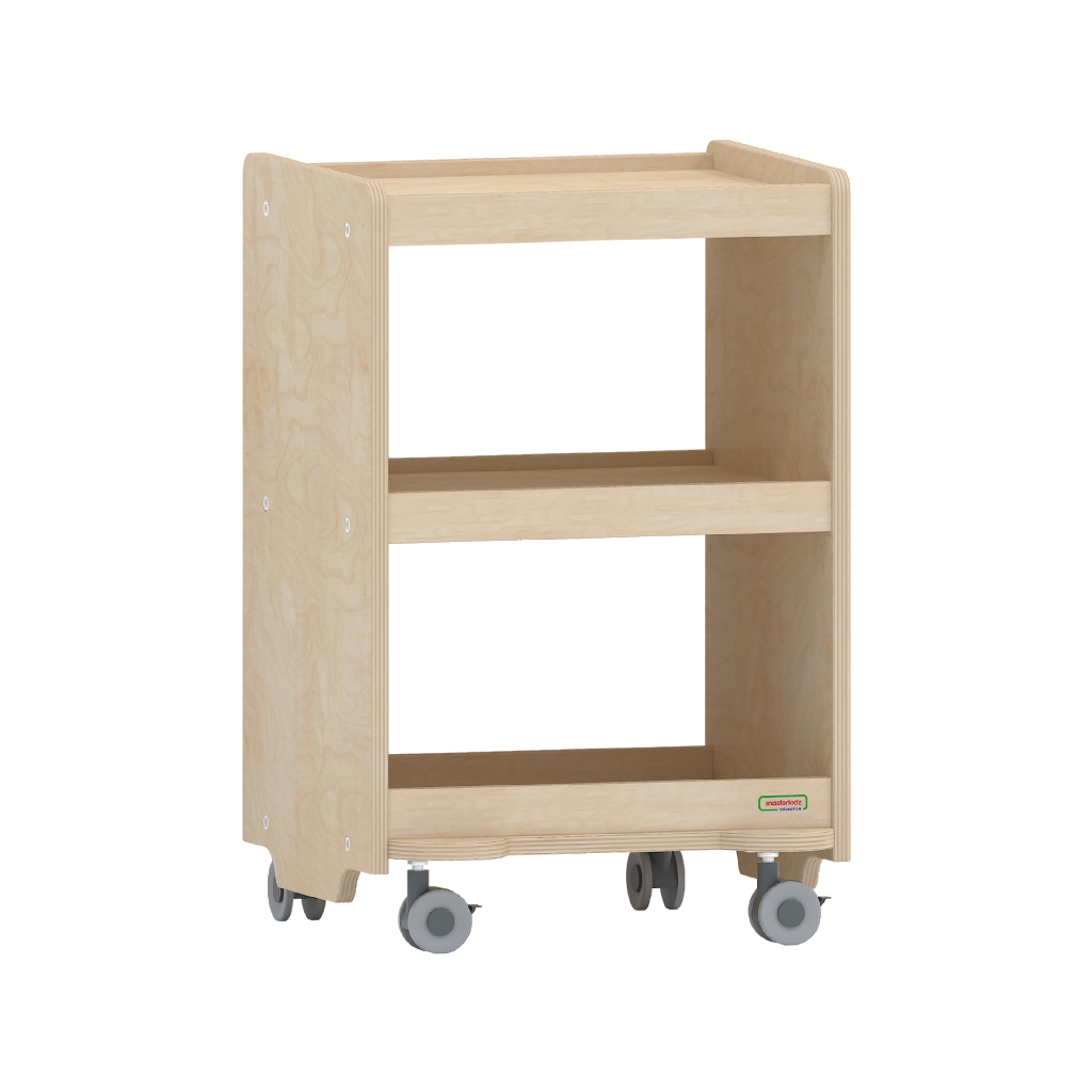 620H x 400L 可移動雙層櫃_620H x 400L Open Back Mobile Shelving Unit_ME08046
