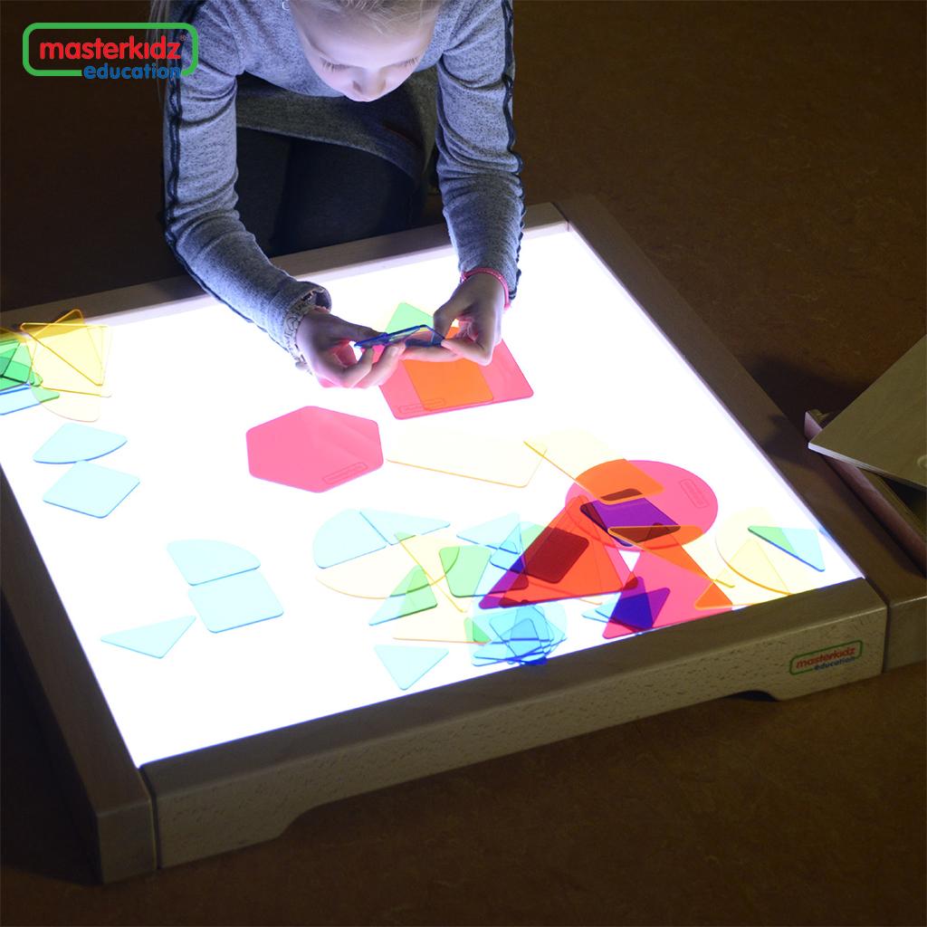 ME08602-51件彩色幾何形狀片套裝