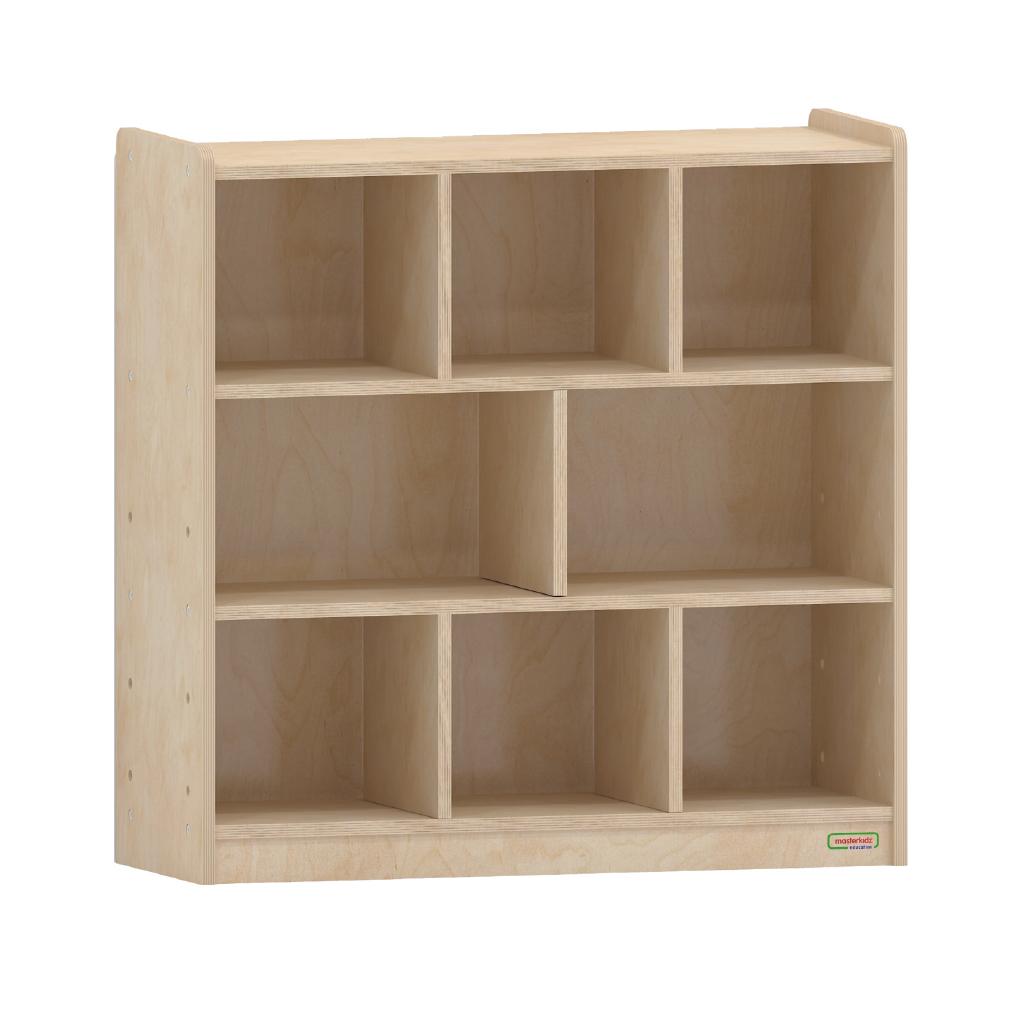 ME08992-800H x 800L 木背板八格櫃