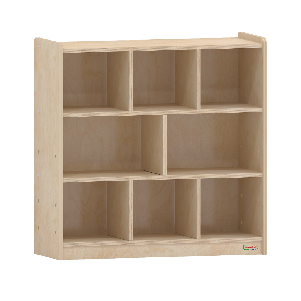 800H x 800L 木背板八格櫃_800H x 800L 8 Compartment Shelving Unit - Wooden Back_ME08992
