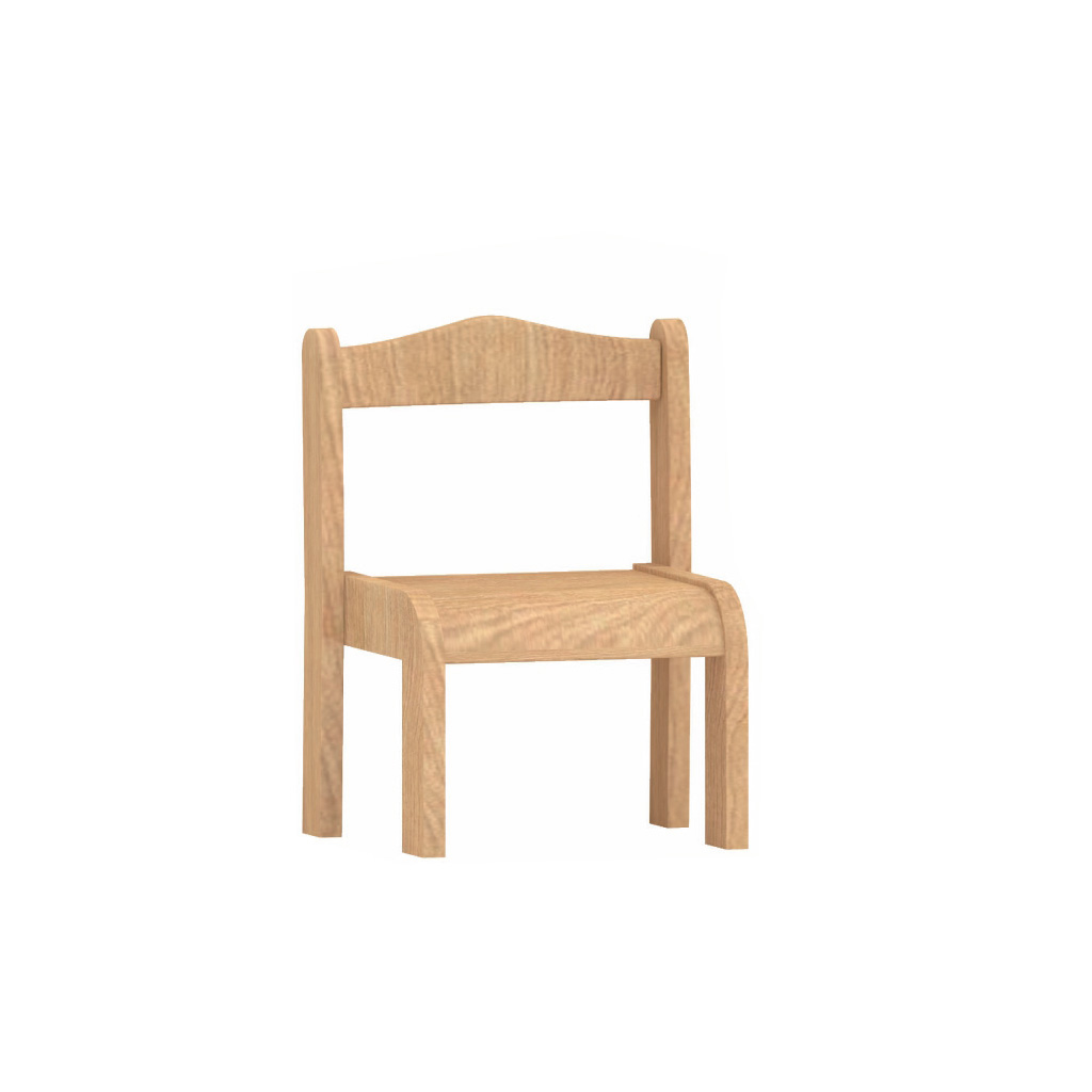 ME10438-可堆疊櫸木椅(低款)