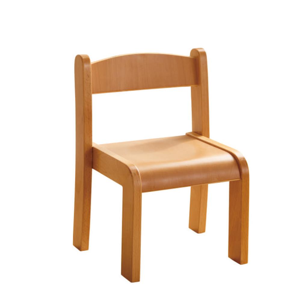 ME10445-可堆疊櫸木椅(高款)