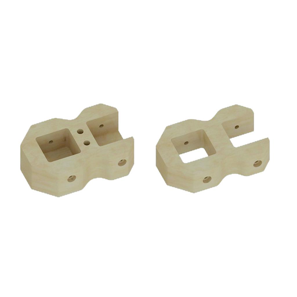 ME10766-雙孔連接器 - 連接牆邊