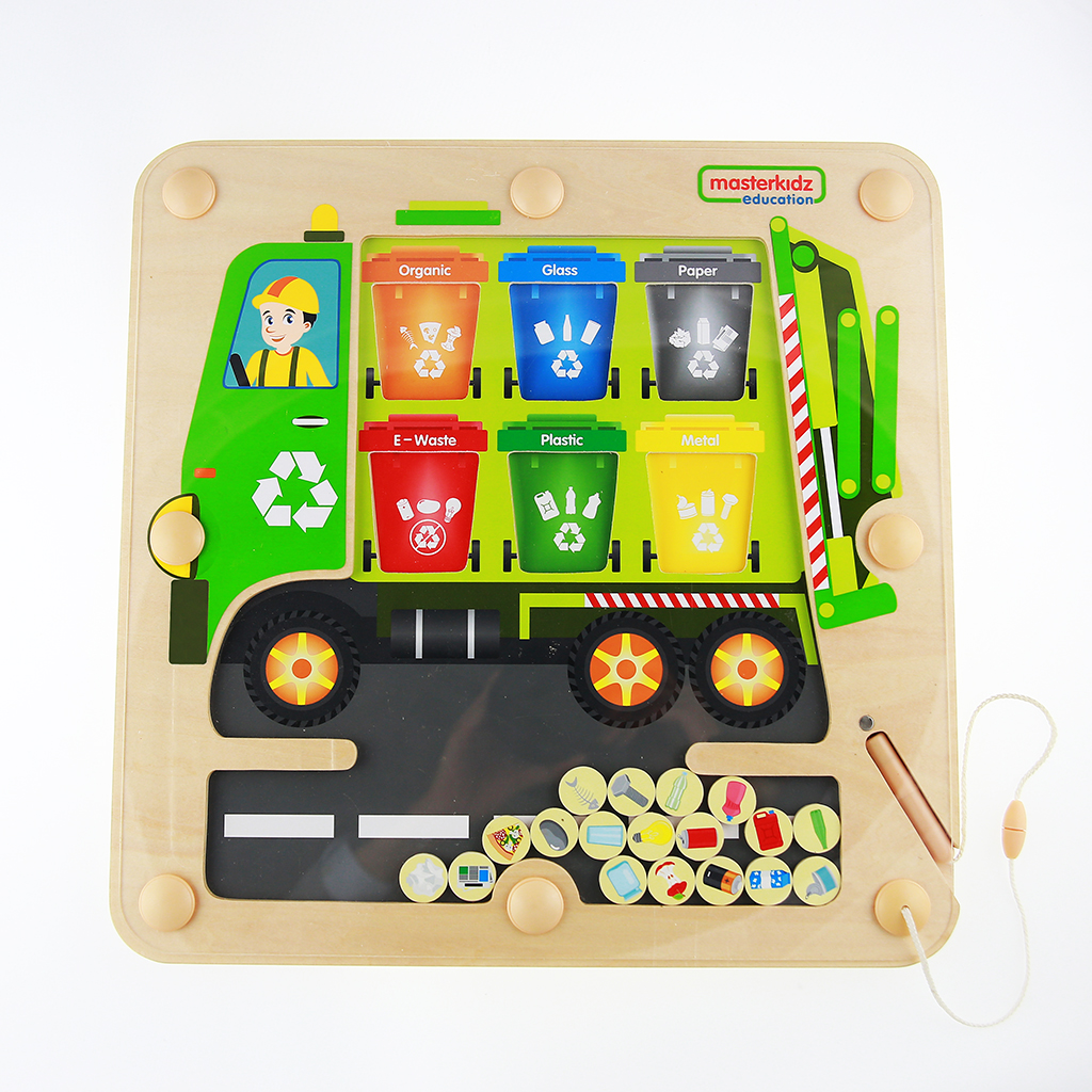 ME12456-回收分類磁性遊戲板