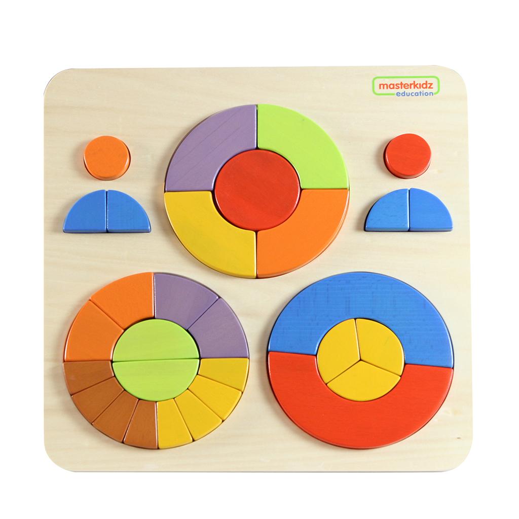 ME12708-幾何分數創意拼圖遊戲板