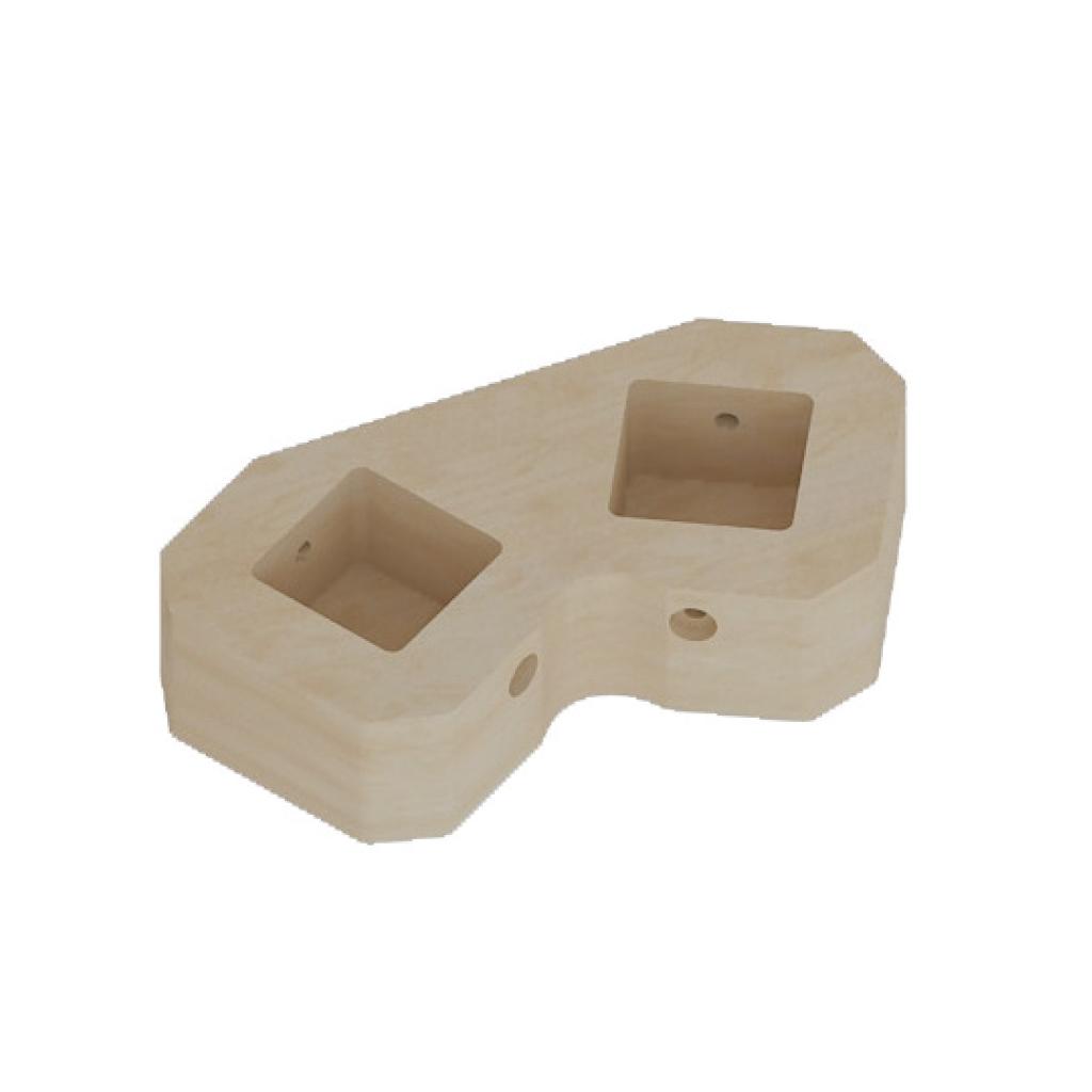 ME13156-120°度雙孔連接器