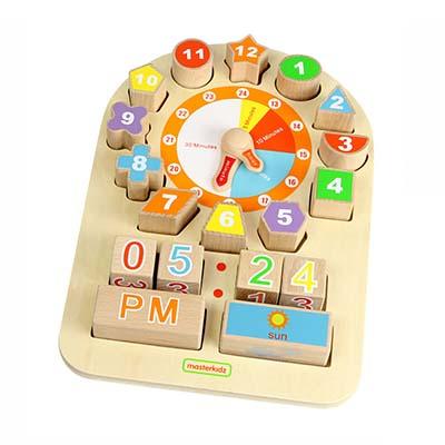 MK00453-多功能時鐘學習板