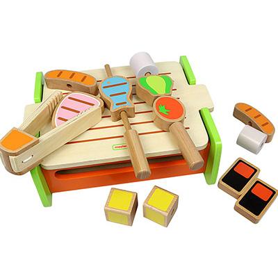 MK00965 - 木製燒烤玩具