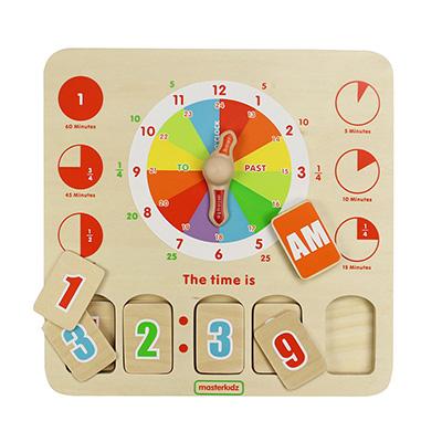 MK01702-時鐘學習板
