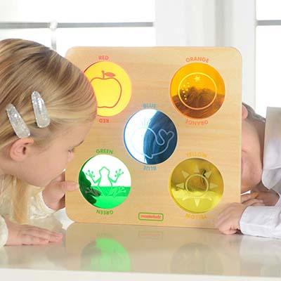 MK02143-顏色認知學習板