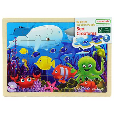 MK05878-木製拼圖 - 海洋