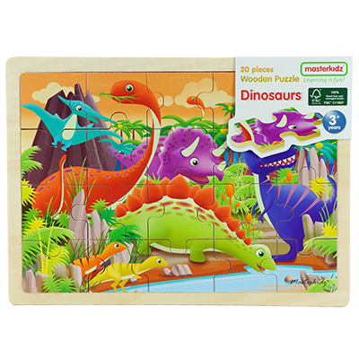 MK05892-木製拼圖 - 恐龍