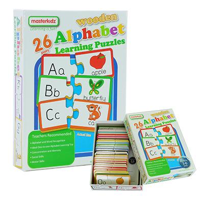 MK05984-幼兒學習拼圖盒裝 - 字母