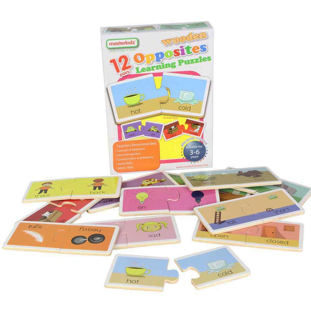 MK05991-相反詞木製學習拼圖-盒裝