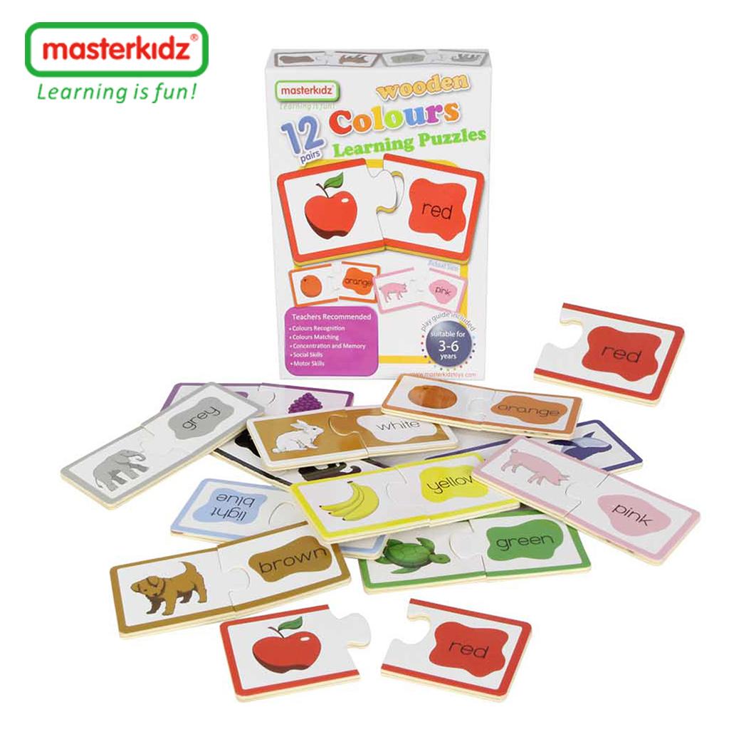 MK06004-顏色木製學習拼圖-盒裝