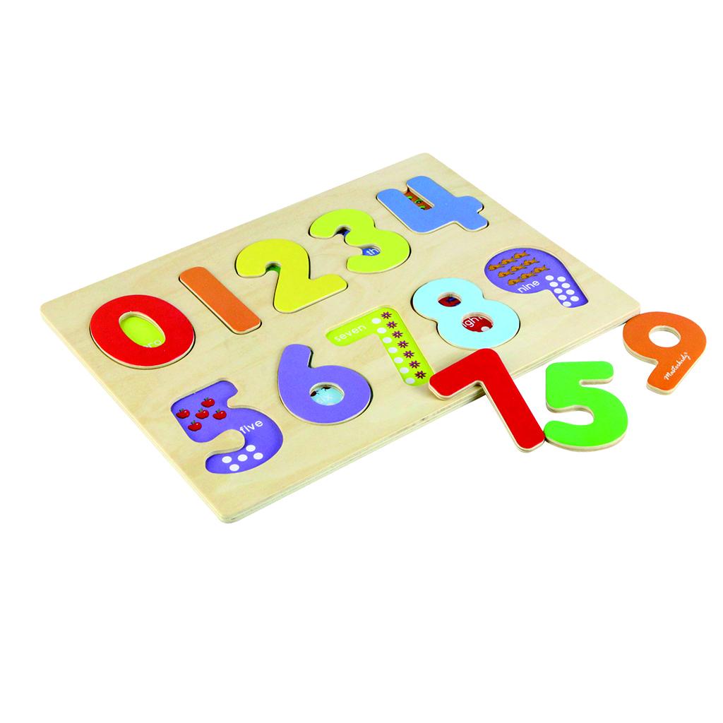 MK06080-厚裝木拼圖系列 - 數字