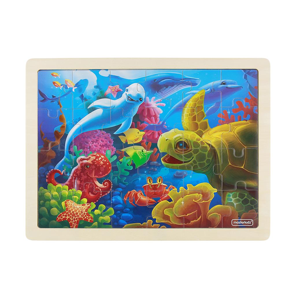 MK07353-24片木製拼圖-快樂海洋