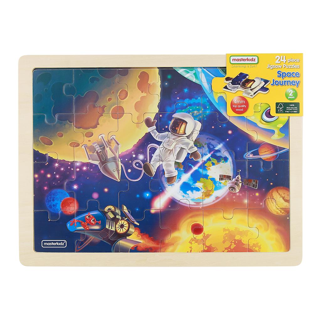 MK07384-24片木製拼圖-太空之旅