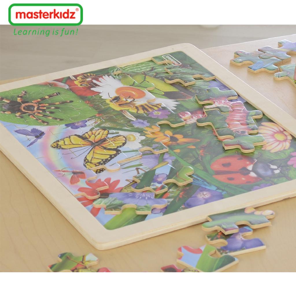 MK07551-48片木製拼圖-昆蟲