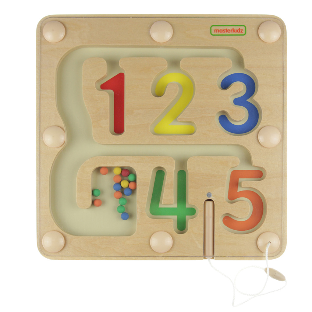 MK08886-數字分類磁性滑珠迷宮