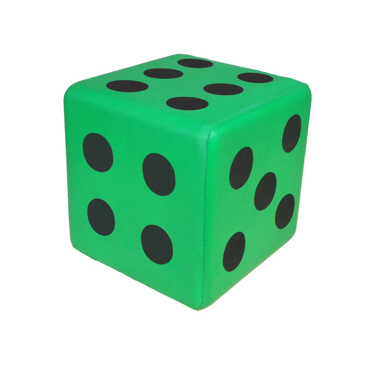 S630A-G-6吋骰子-綠