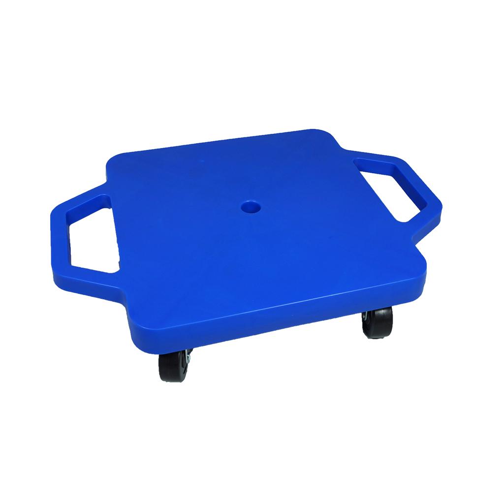 SYS116-B-12吋菱形手把滑板車-藍(室內用輪)
