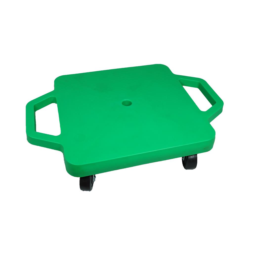 SYS116-G-12吋菱形手把滑板車-黃(室內用輪)