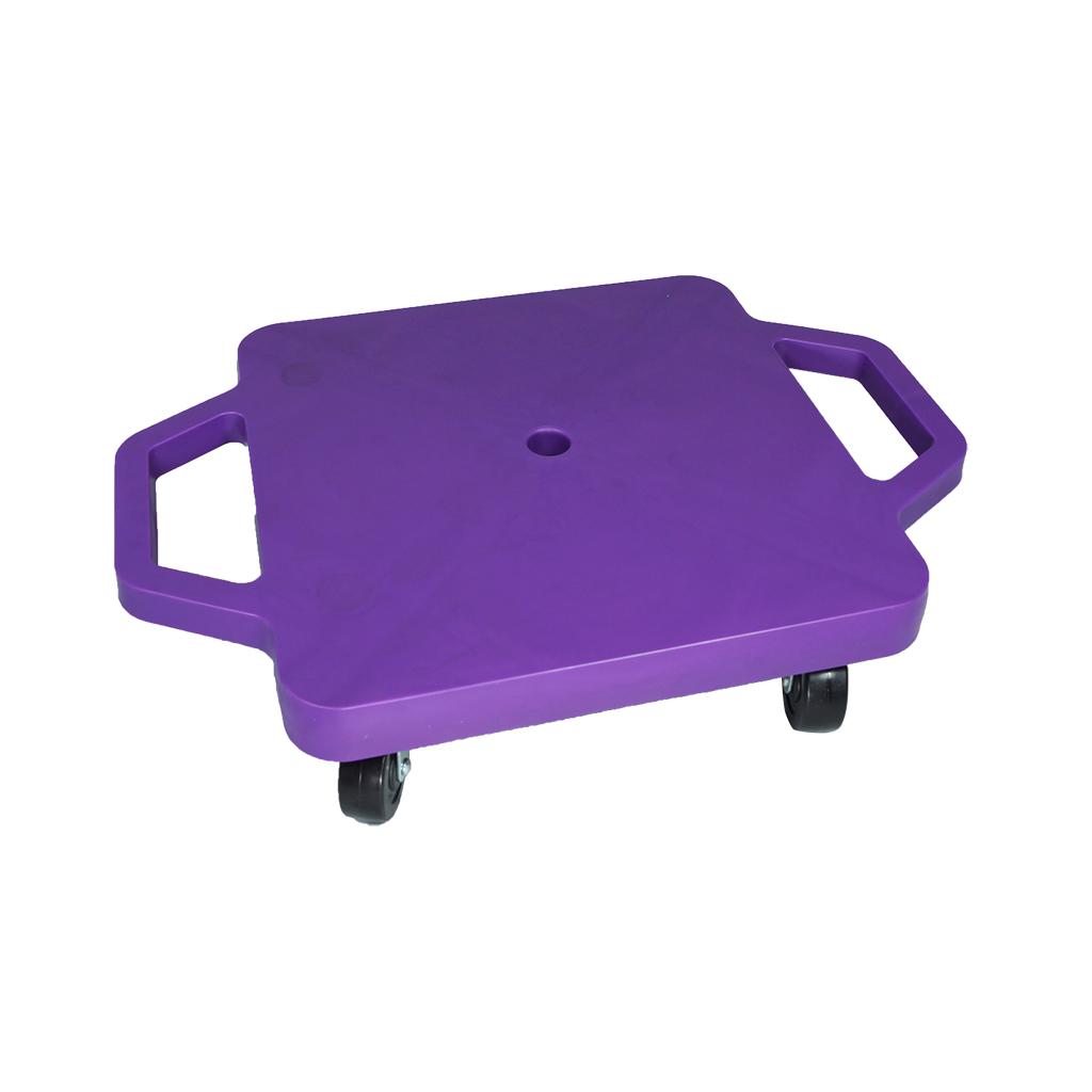 SYS116-P-12吋菱形手把滑板車-紫(室內用輪)