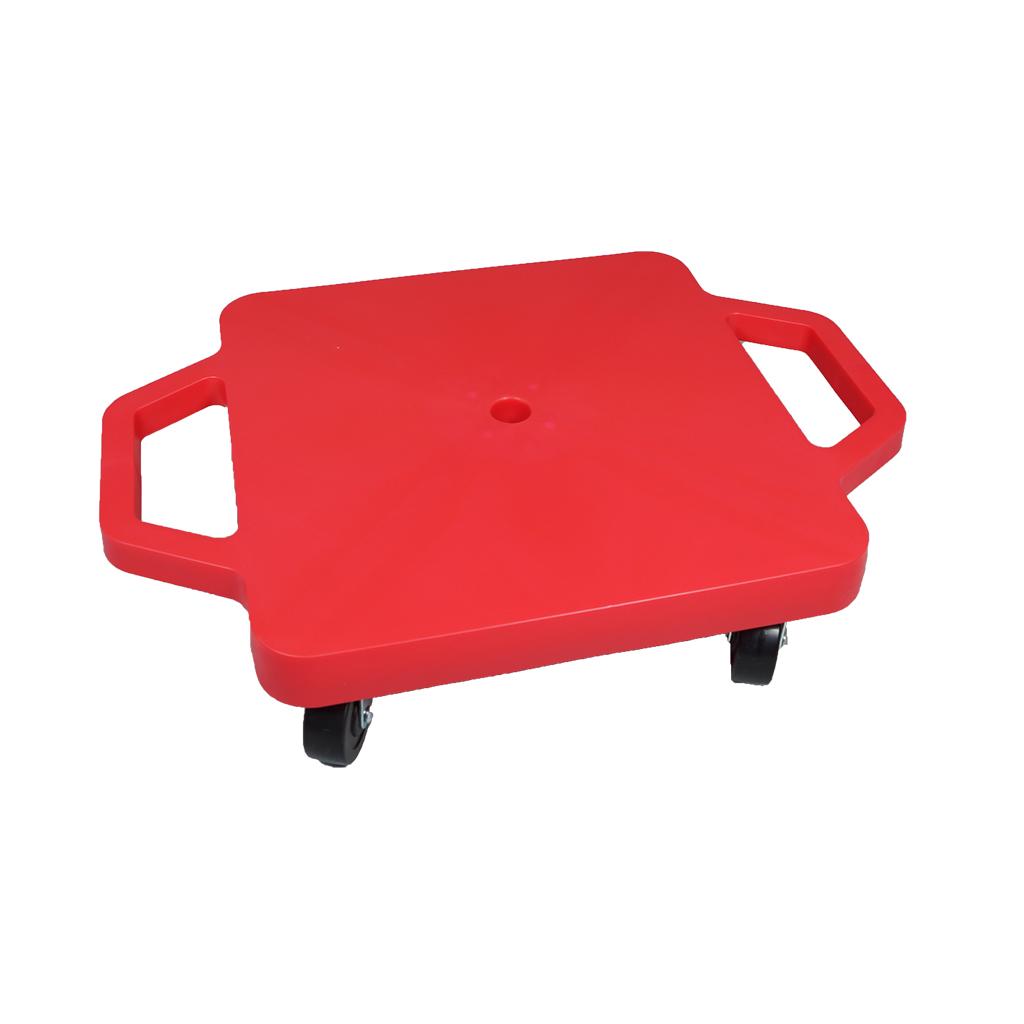 SYS116-R-12吋菱形手把滑板車-紅(室內用輪)