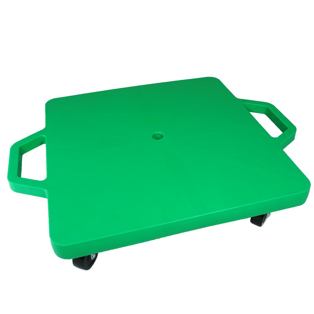 SYS117-G-16吋菱形手把滑板車-綠 (室內用輪)