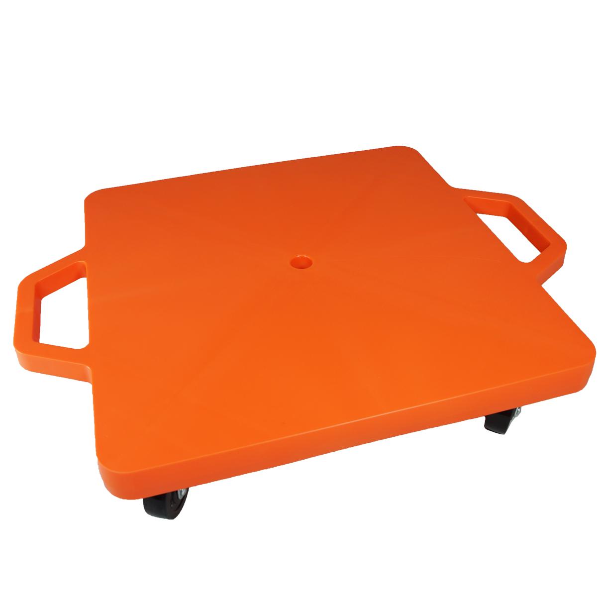 SYS117-O-16吋菱形手把滑板車-橘 (室內用輪)