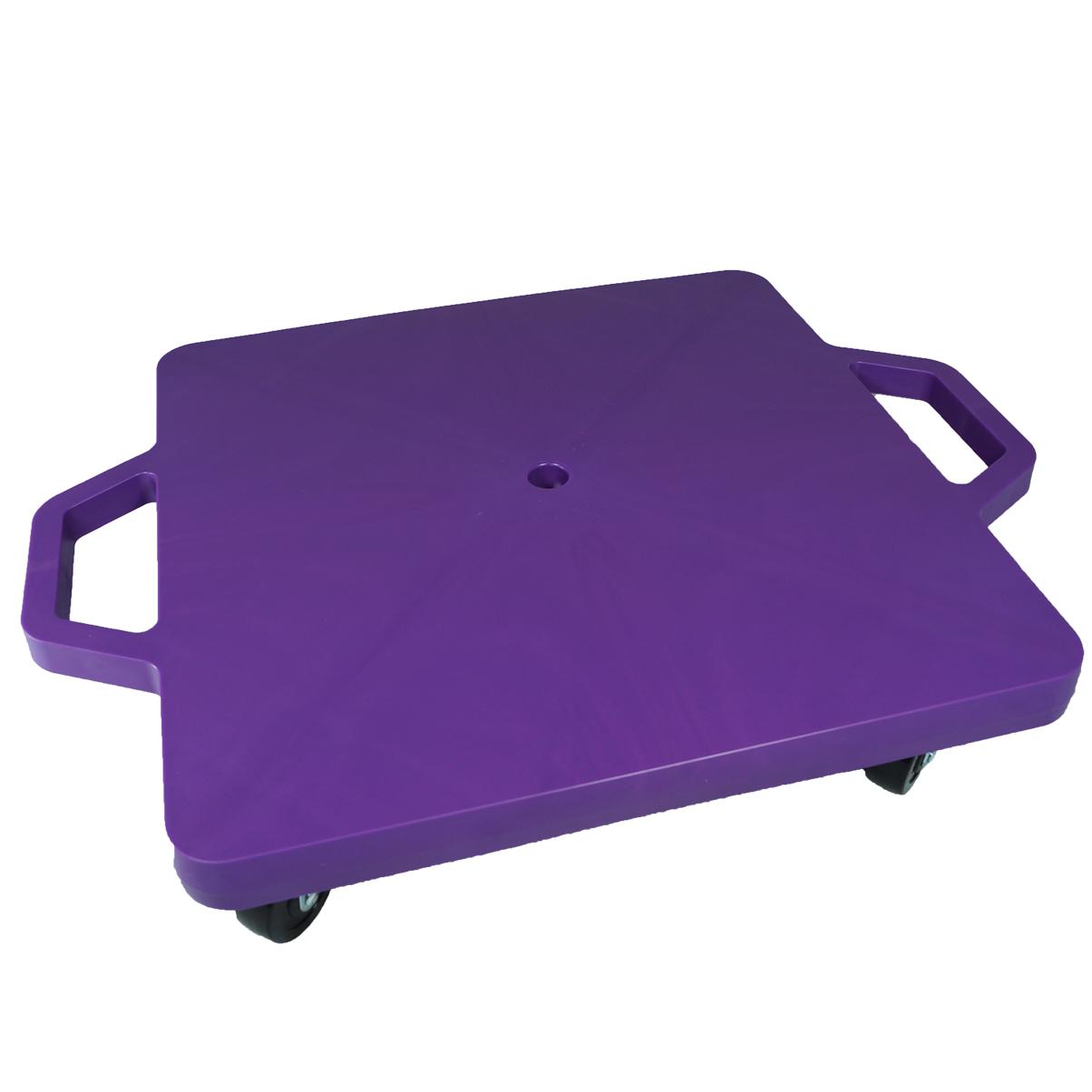 SYS117-P-16吋菱形手把滑板車-紫 (室內用輪)