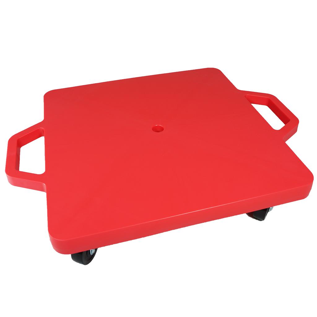 SYS117-R-16吋菱形手把滑板車-紅 (室內用輪)