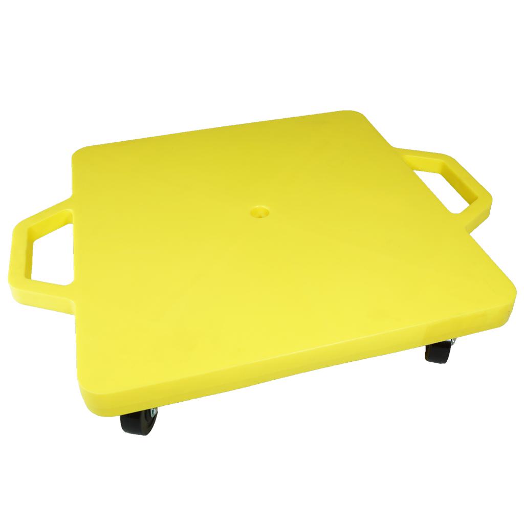 SYS117-Y-16吋菱形手把滑板車-黃 (室內用輪)