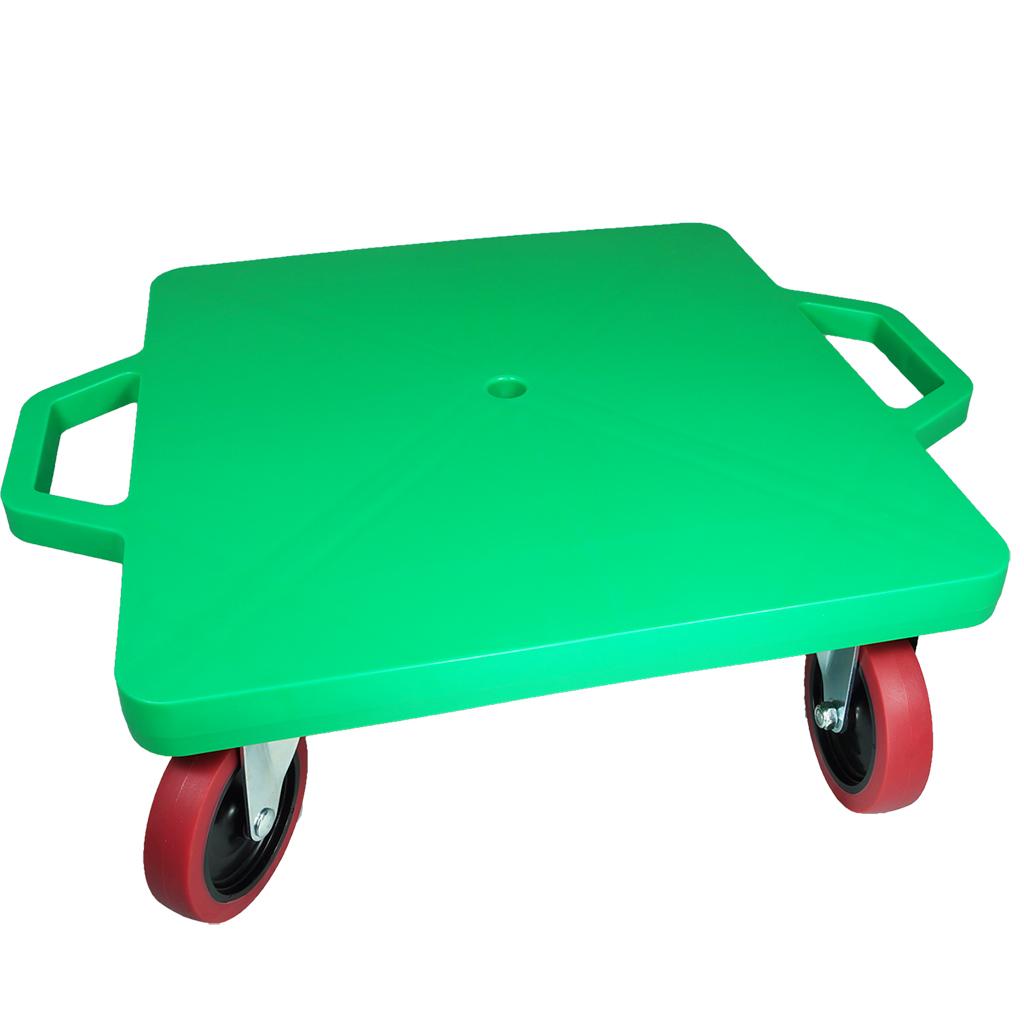 SYS119-G-16吋菱形手把滑板車-綠 (室內外兩用輪)