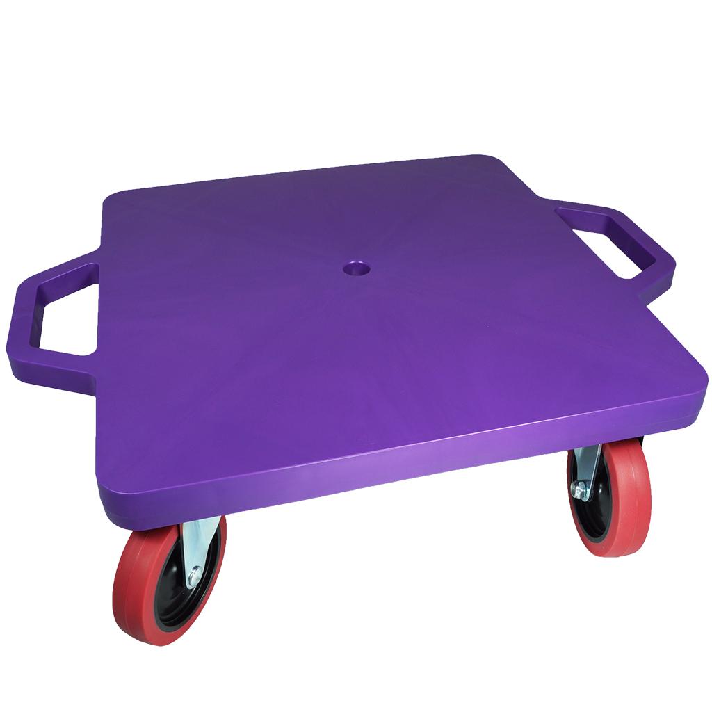 SYS119-P-16吋菱形手把滑板車-紫 (室內外兩用輪)