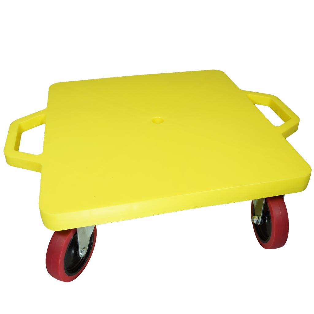 SYS119-Y-16吋菱形手把滑板車-黃 (室內外兩用輪)