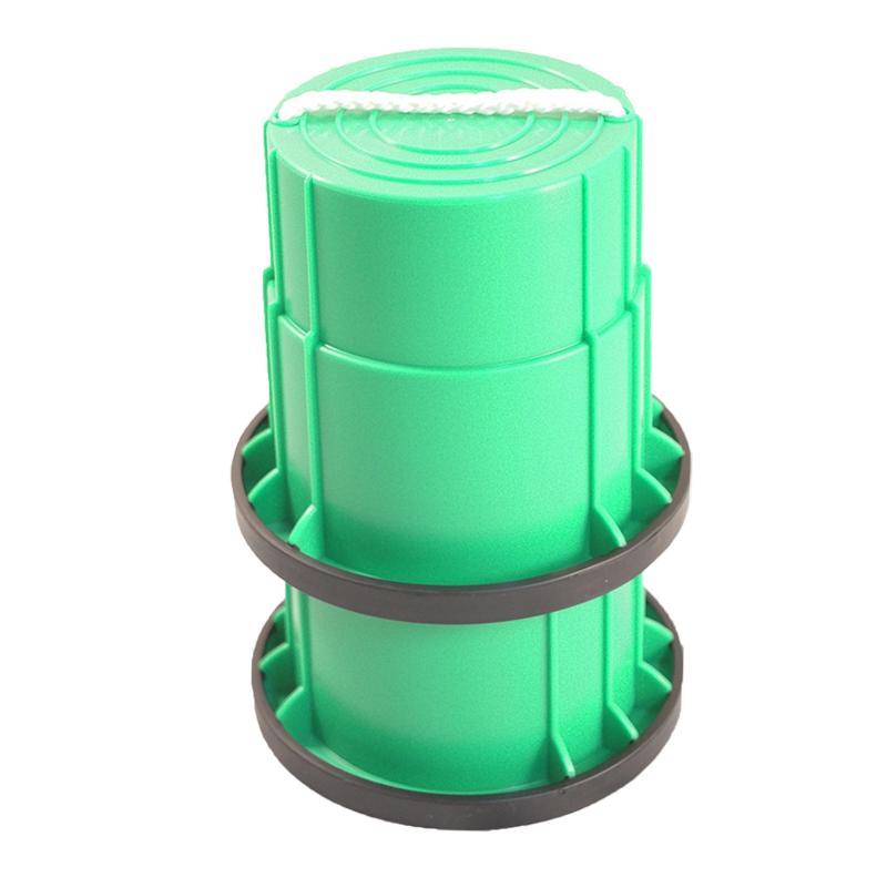 SYS158-G-止滑腳踏桶-綠(對)