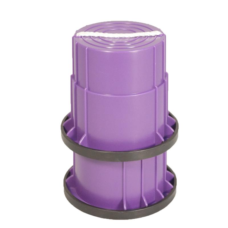 SYS158-P-止滑腳踏桶-紫(對)