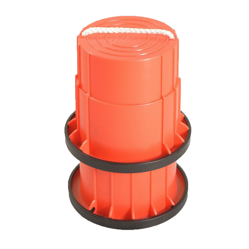 SYS158-R-止滑腳踏桶-紅(對)