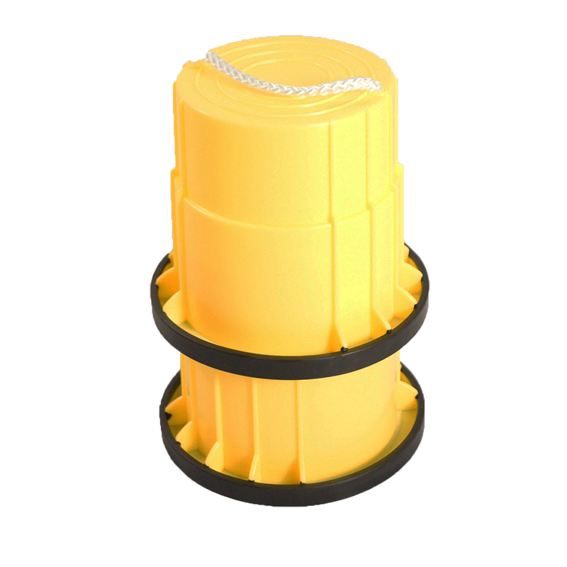 SYS158-Y-止滑腳踏桶-黃(對)